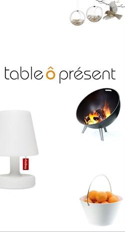 Table ô Présent