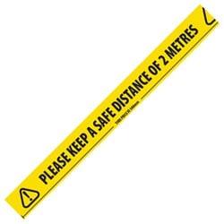 social distancing tape