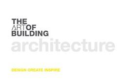 THE ART OF BUILDING  LTD