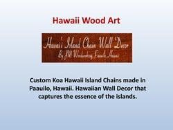 Hawaii Woodart