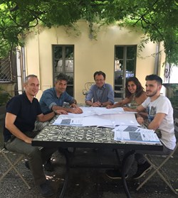 Negozio Blu Architetti Associati Gustavo Ambrosini Paola Gatti Carlo Grometto