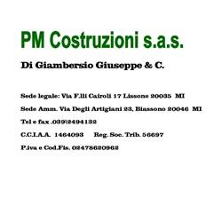 PM Costruzioni di Giambersio Giuseppe & C.
