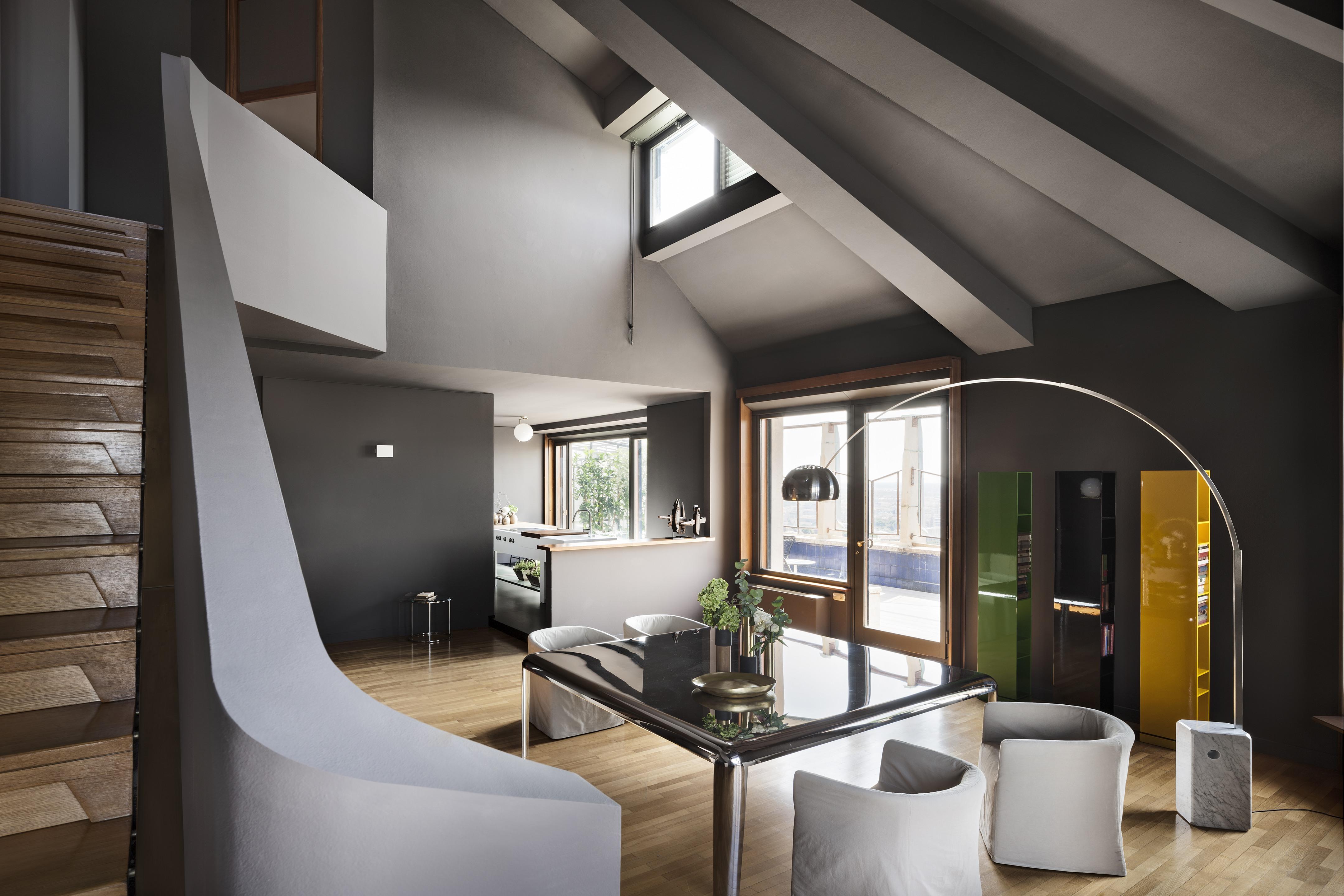 Studio La Sala Milano attico torre velasca | lissoni & partners
