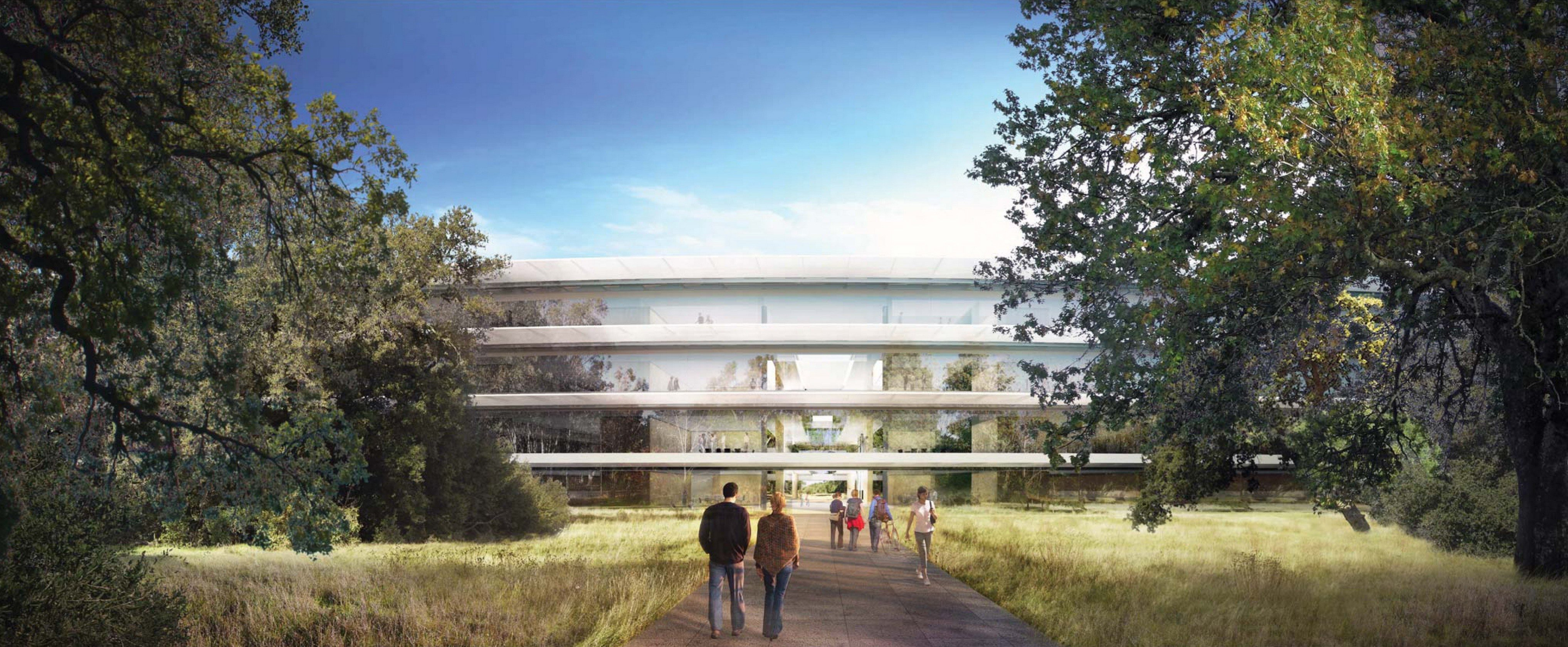 Apple Campus 2 project   Foster + Partners