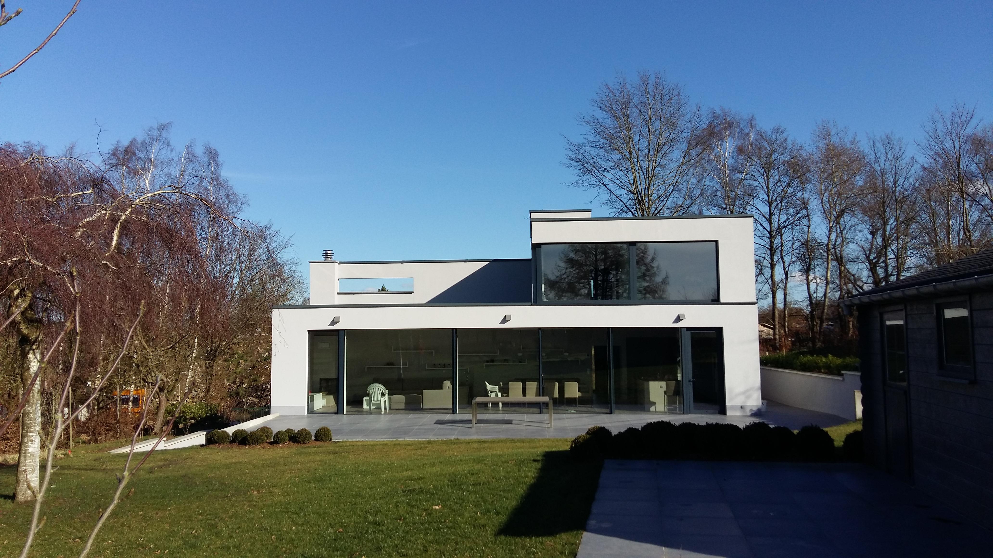 Villa contemporaine à genappe brabant wallon belgique