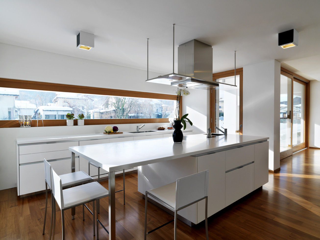 Cucina Soggiorno Stretta E Lunga horizontal space - picture gallery