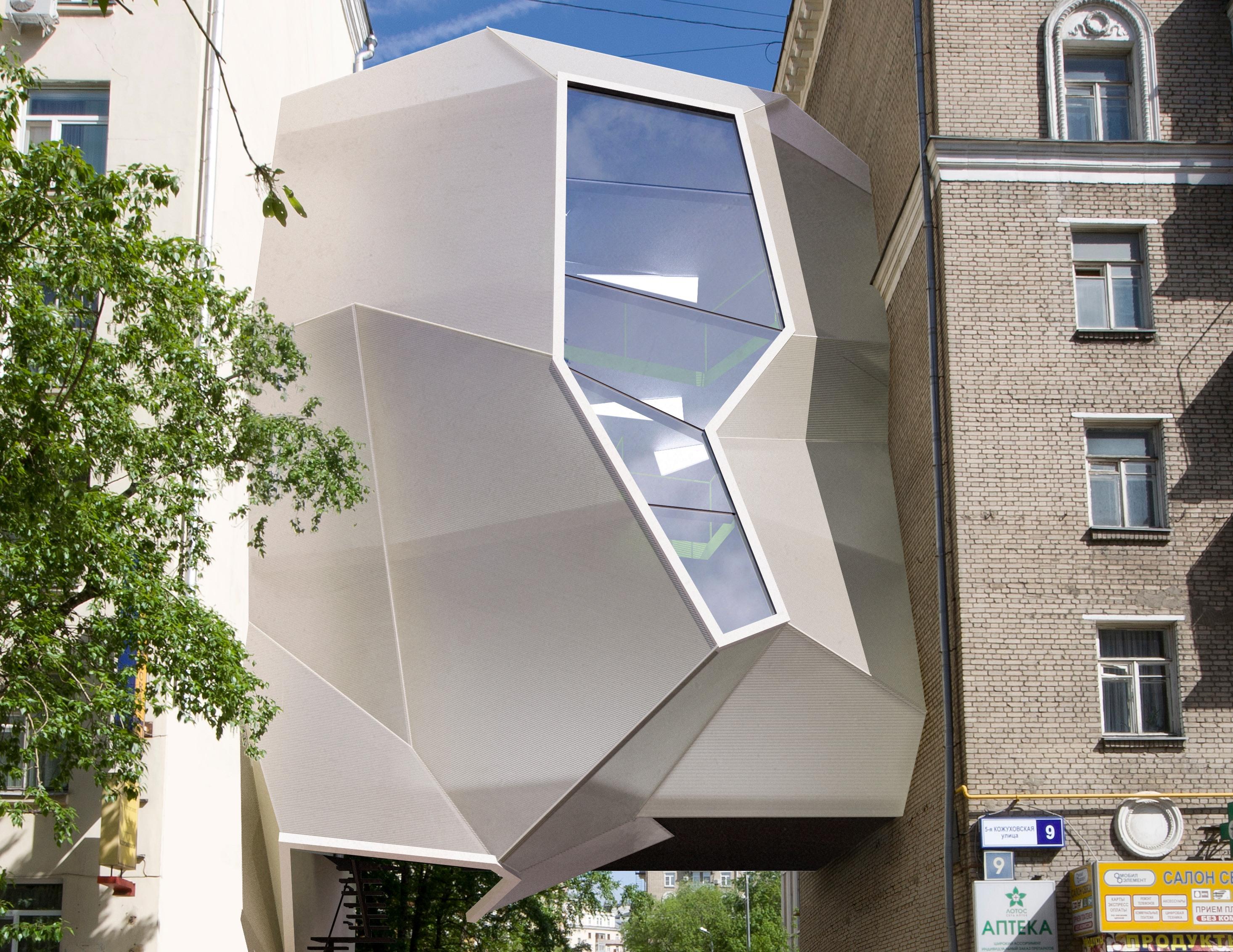 Parasite Office Za Bor Architects