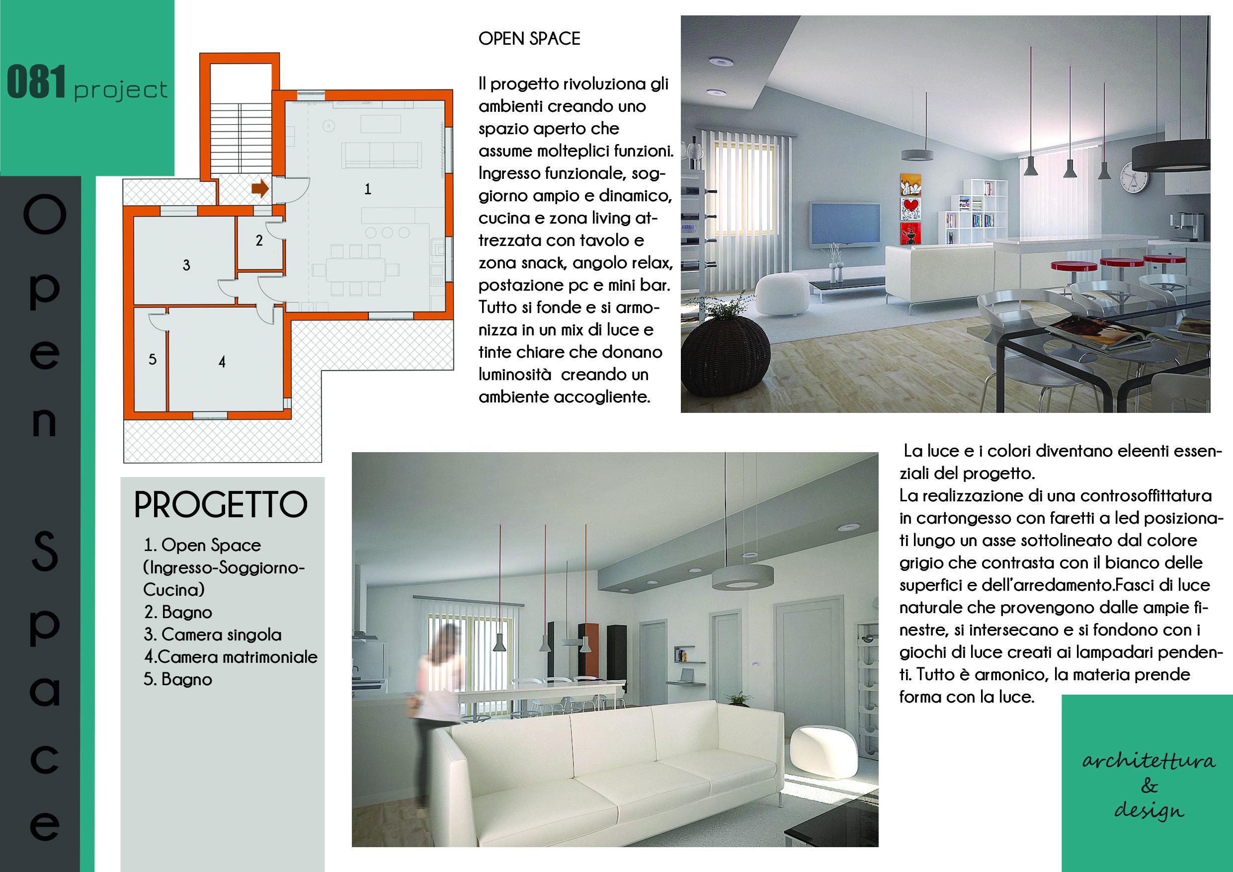 Open Space Cucina E Soggiorno open space - picture gallery