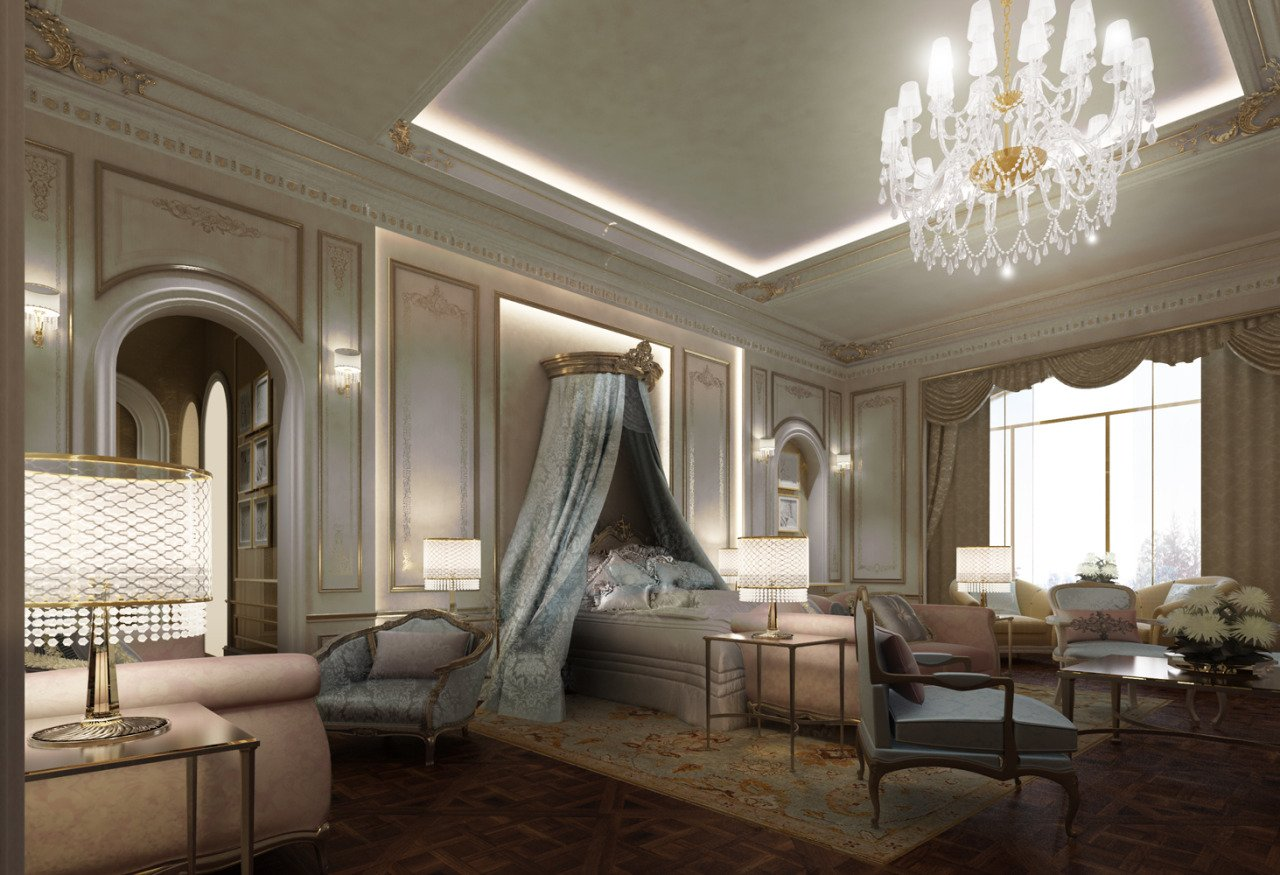 Ions Interior Design Dubai exploring luxurious homes : french style bedroom design