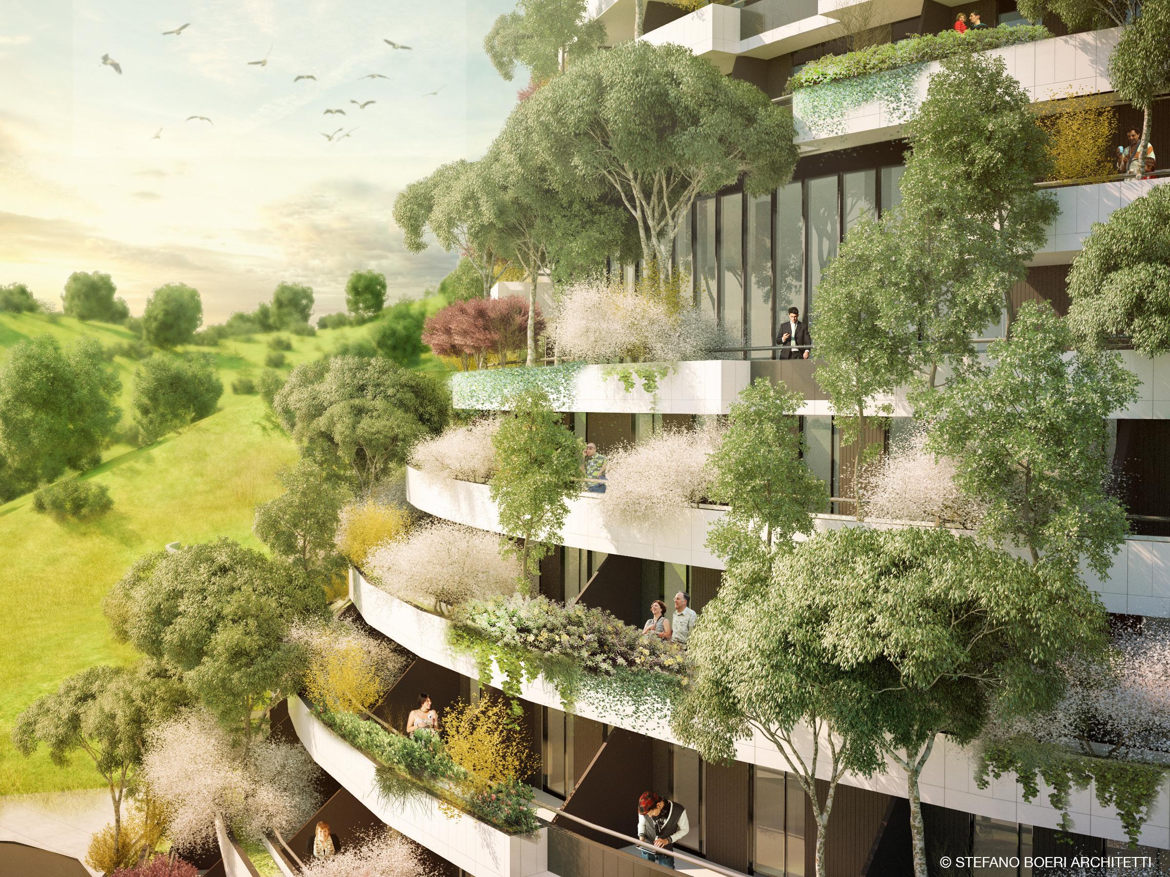 Architettura Sostenibile Architetti guizhou – mountain forest hotel | stefano boeri architetti