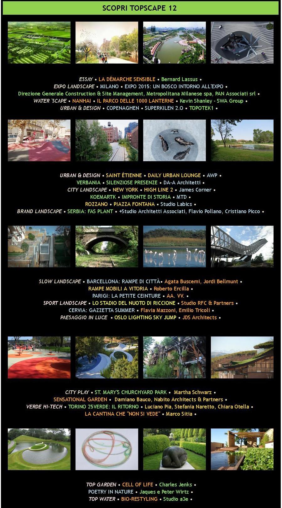 Studio Architettura Paesaggio Milano topscape 12 - picture gallery