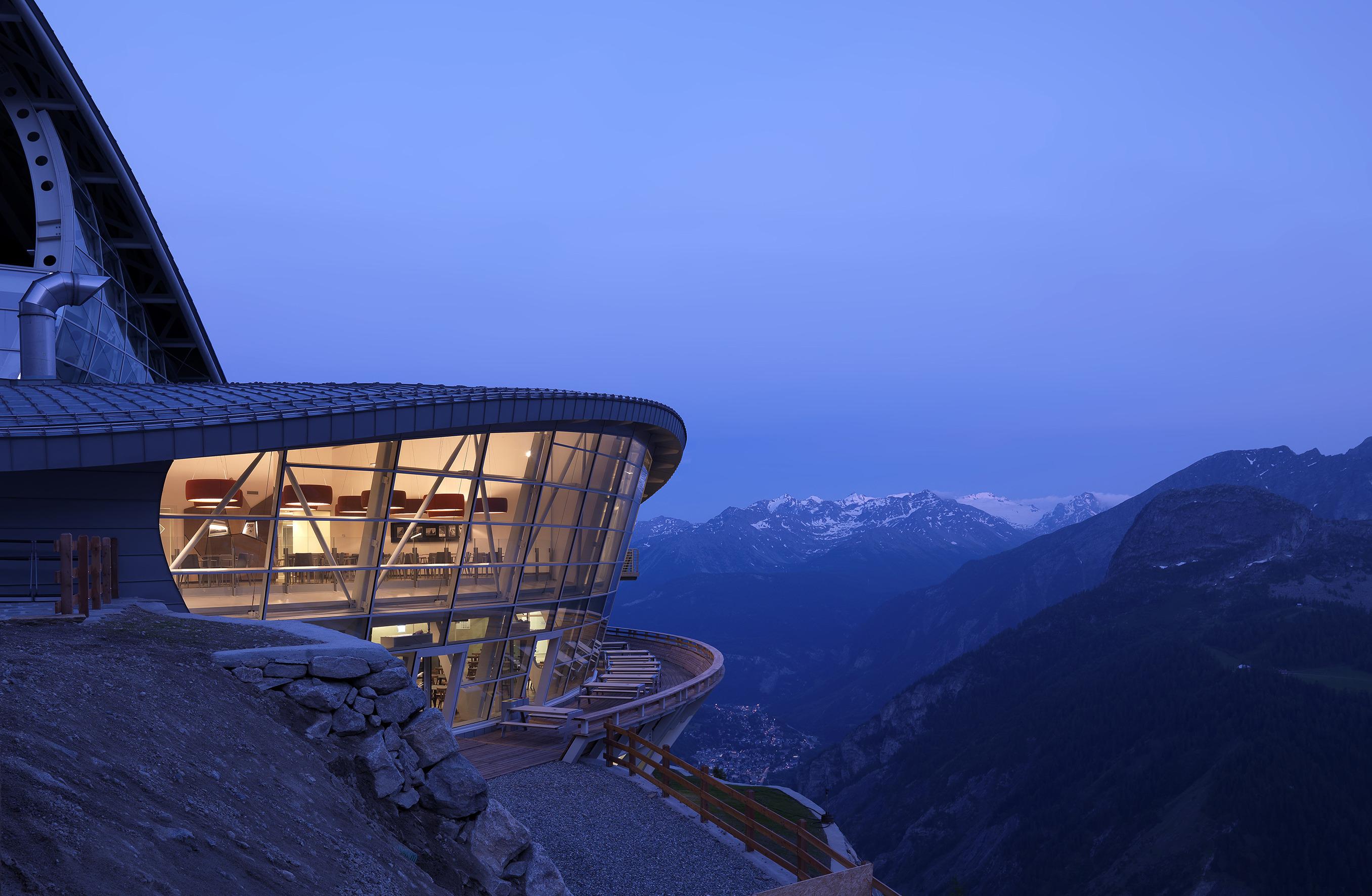 Skyway Monte Bianco Carlo Cillara Rossi