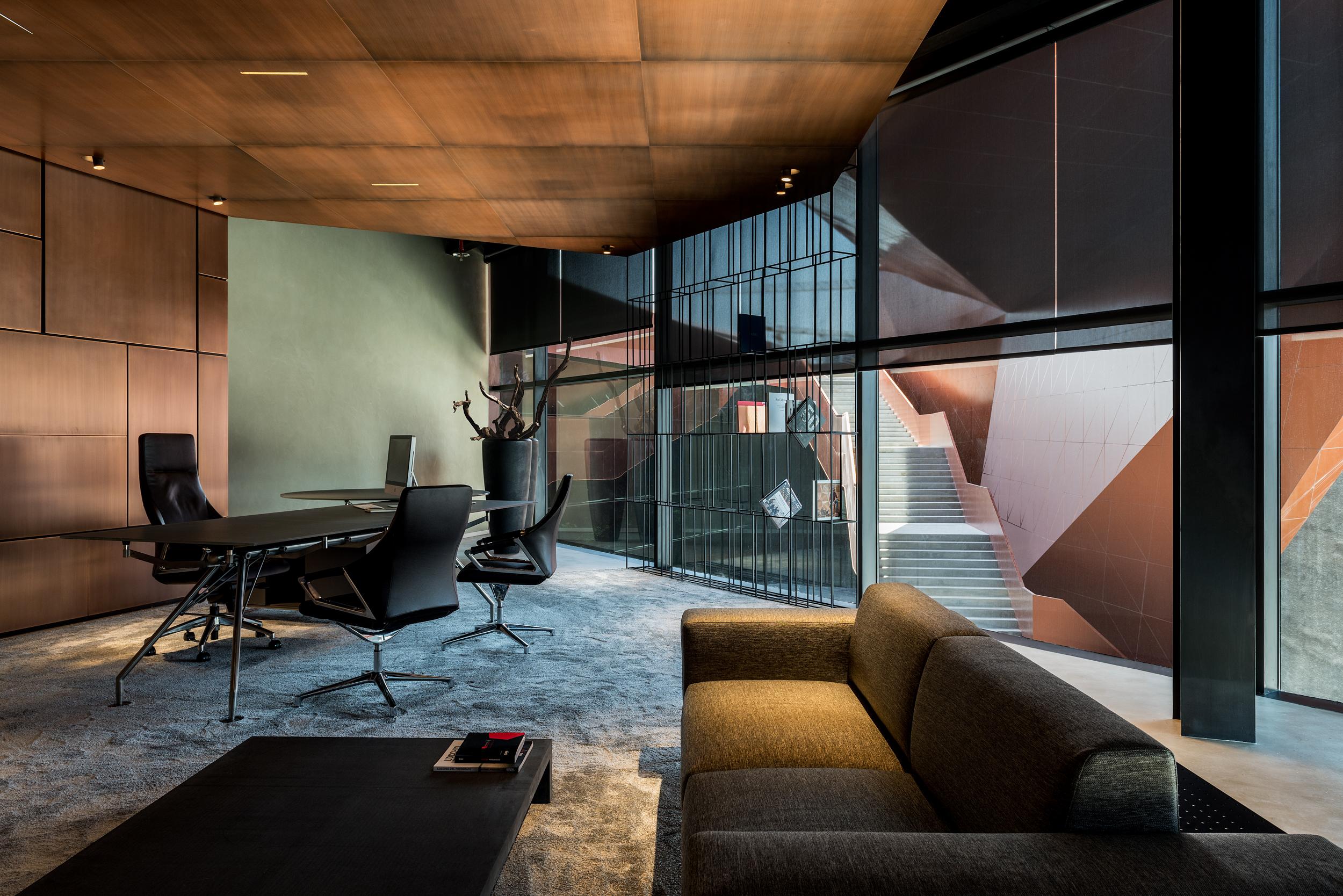 Specchi Per Palestra On Line axiom telecom headquarter - interior | mma projects
