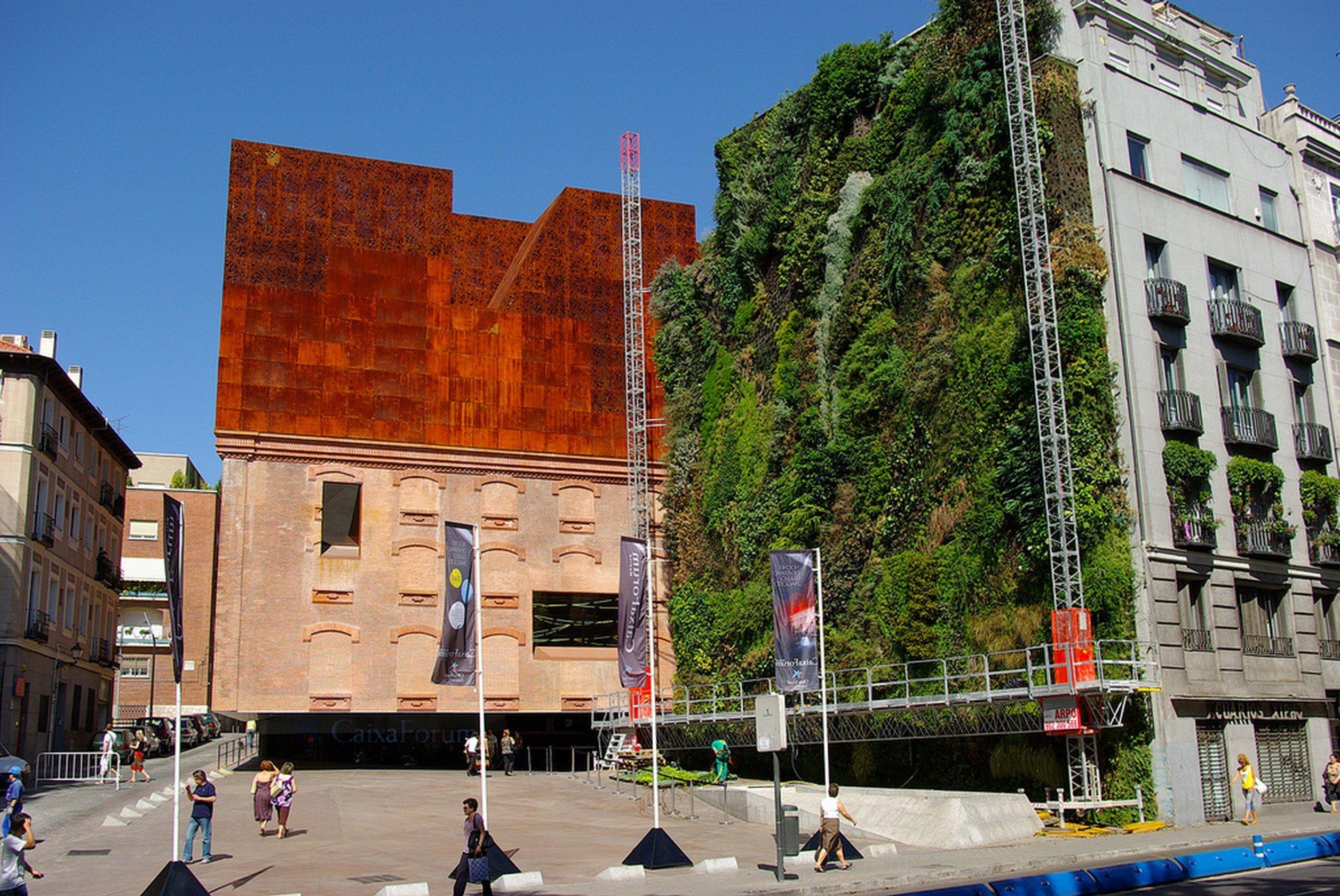 Architettura A Madrid caixa forum madrid   herzog & de meuron