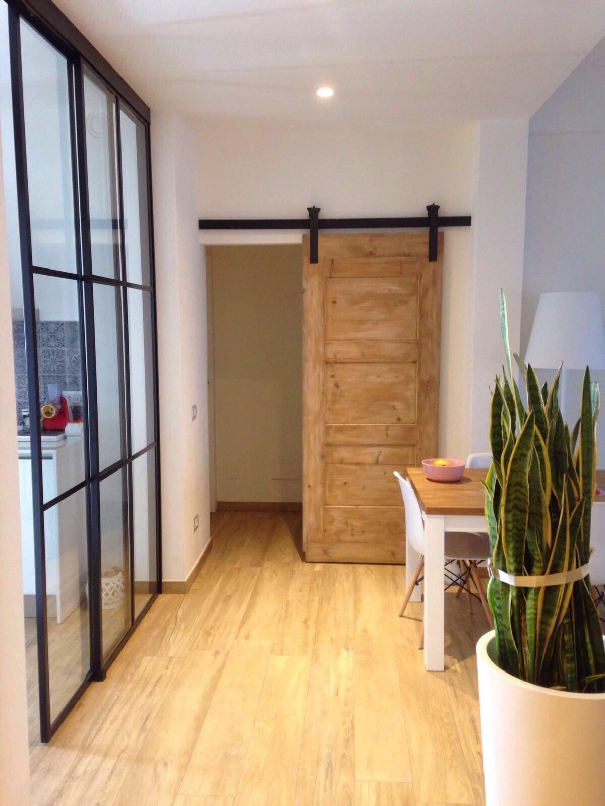 Porte Scorrevoli Stile Industriale appartamento industrial - barn door - picture gallery