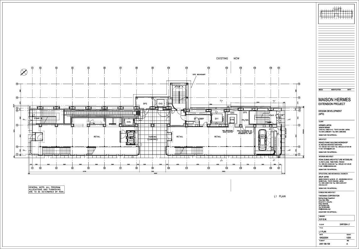 Maison Hermes Rpbw Renzo Piano Building Workshop