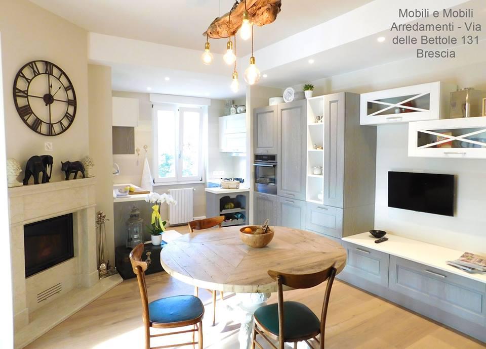 Cucina e zona living modello Agnese marchio Cucine Lube | LUBE ...