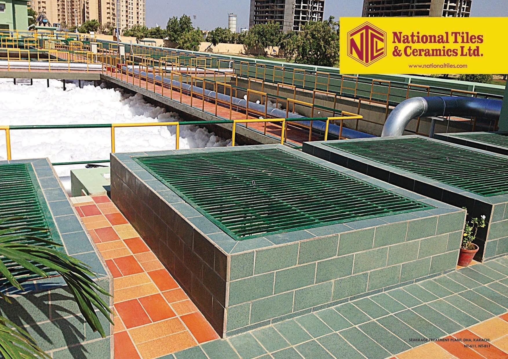 Sewerage Treatment Plant | National Tiles & Ceramics Ltd