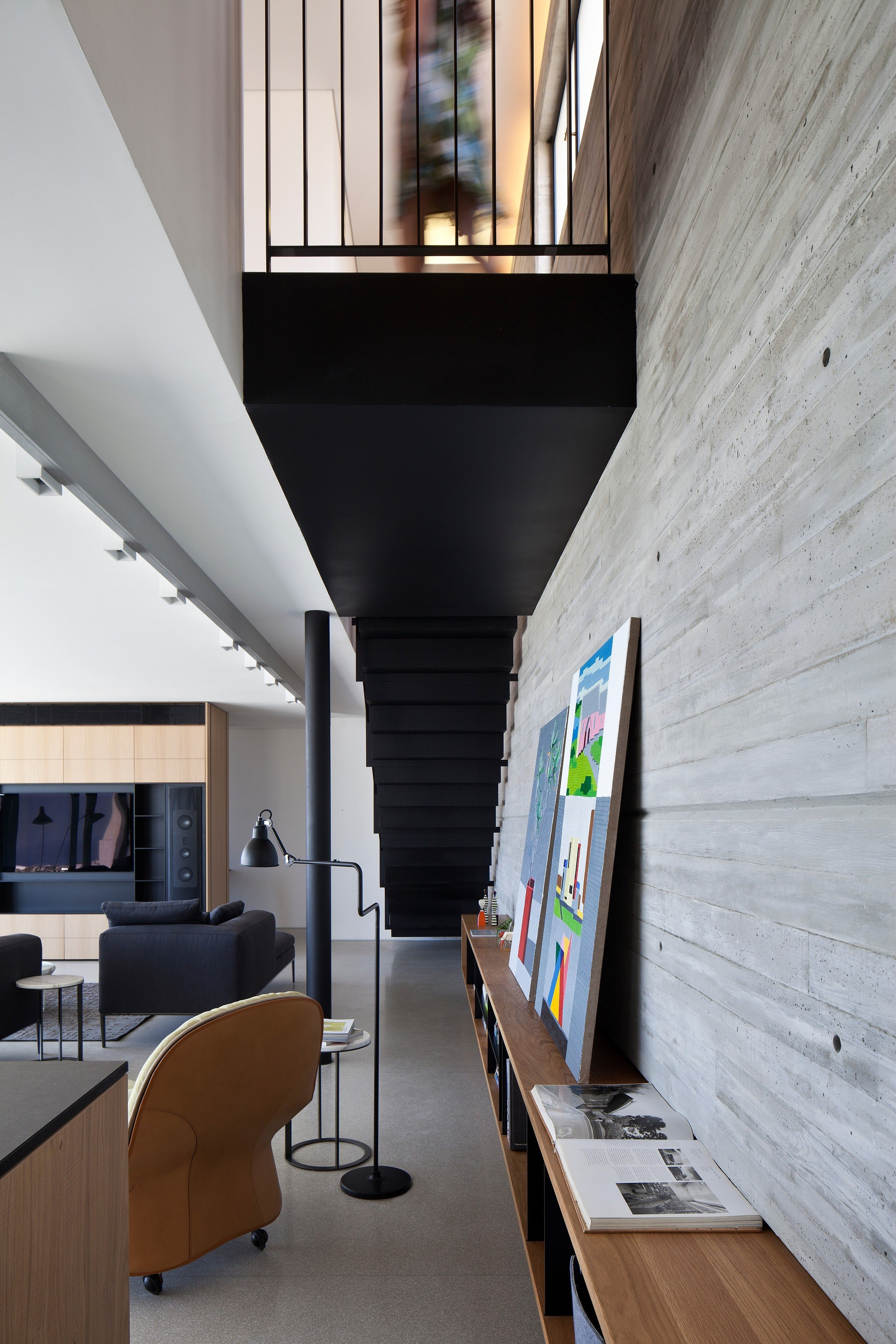Idee Renovation Salon y duplex penthouse | pitsou kedem architects