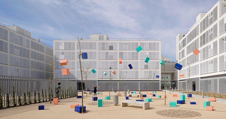 Social Housing in Valleca´s Eco-boulevard