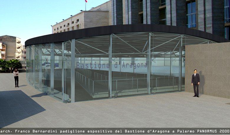 Visitors' Center per il Bastione d'Aragona a Palermo