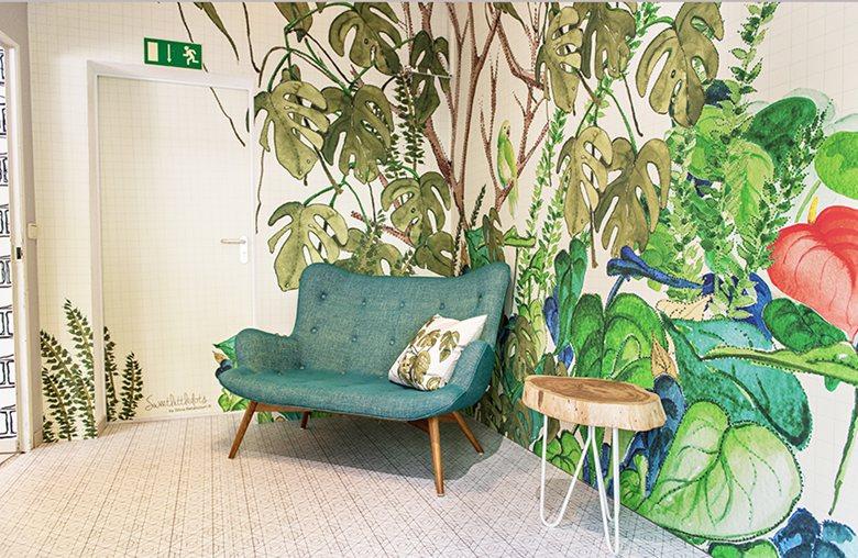 """Tropico"" Showroom SweetLittleDots by Silvia Betancourt"