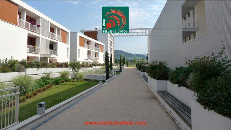 Residential landscaping in Via di Quarto