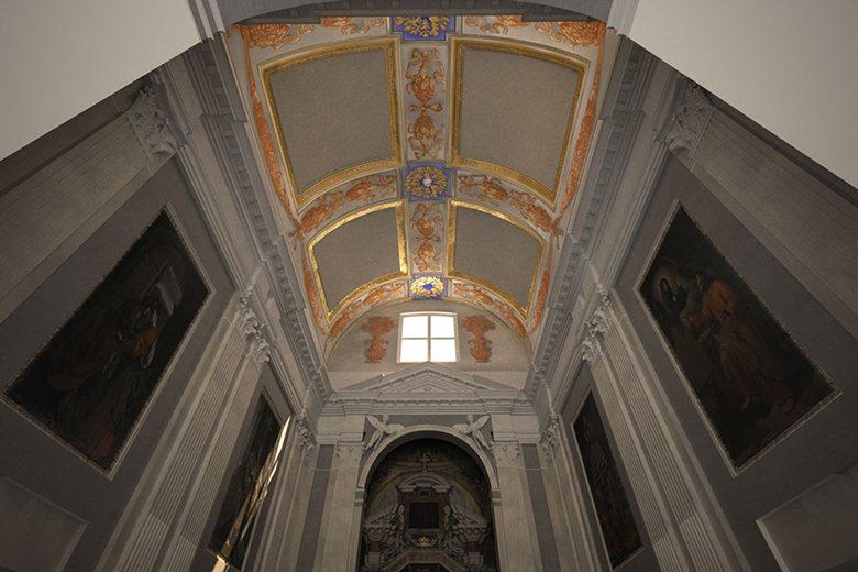 restauro chiesa santa icona spoleto