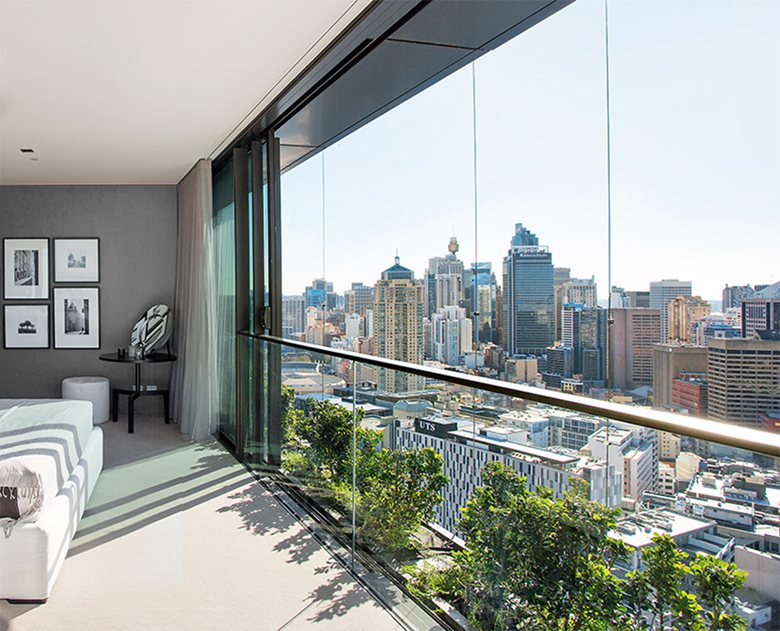 Sky at One Central Park Penthouse Apartments