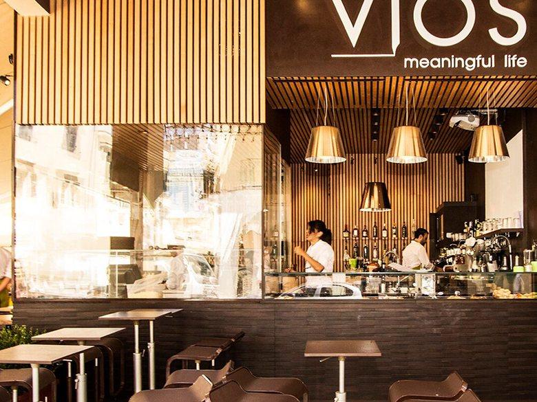 "bar-ristorante ""VIOS Meaningful life"""