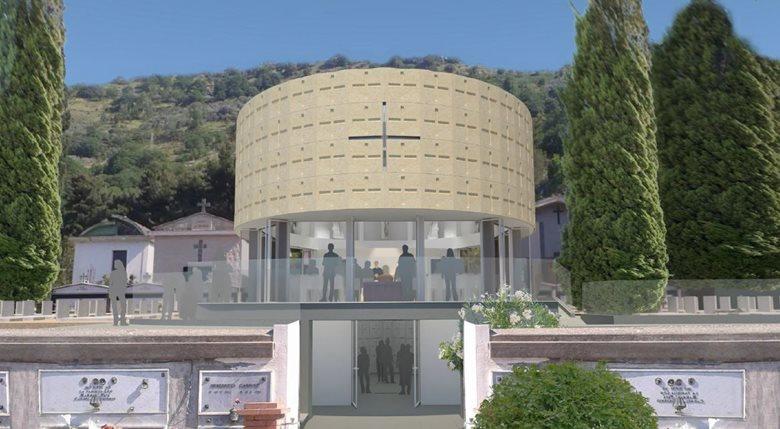 Concorso nuova chiesa nel cimitero di Siano