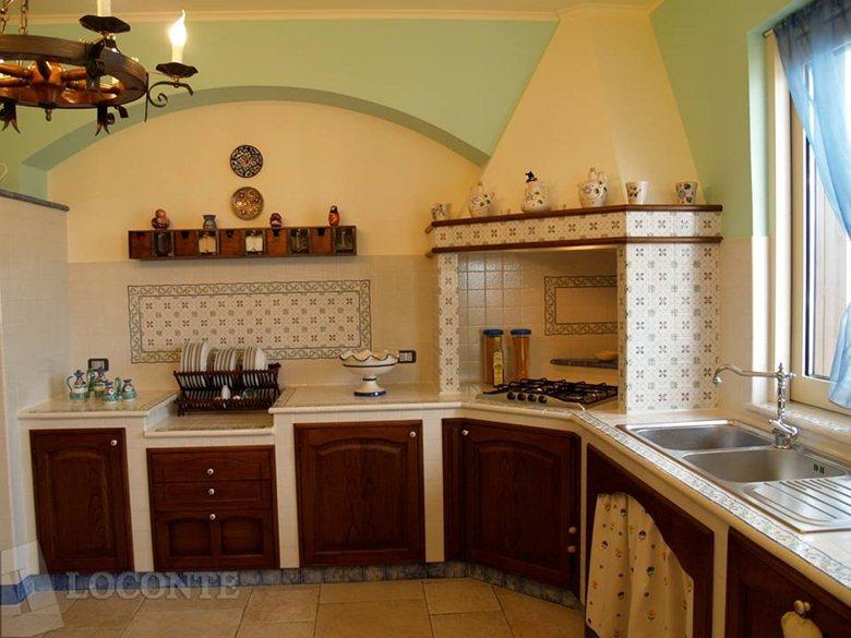 cucina in muratura   LOCONTE SOLUZIONI D\'ARREDO