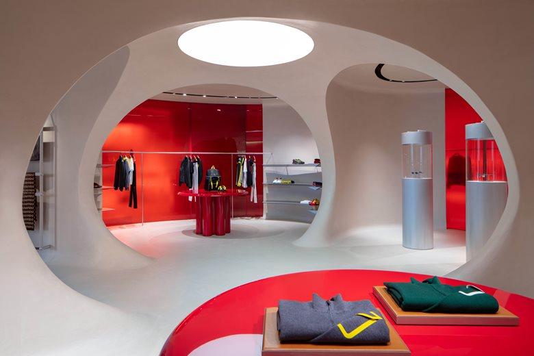 Ferrari store in Maranello
