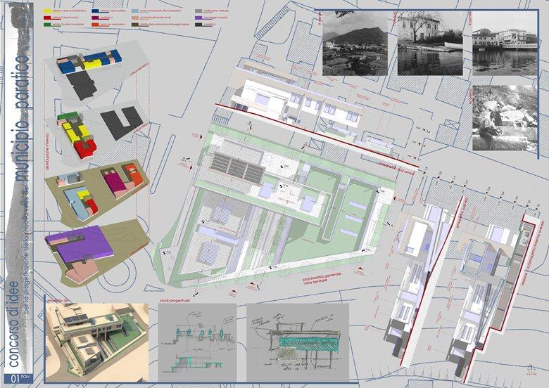 Concorso di idee per la progettazione della nuova sede del Municipio di Paratico e spazi attigui