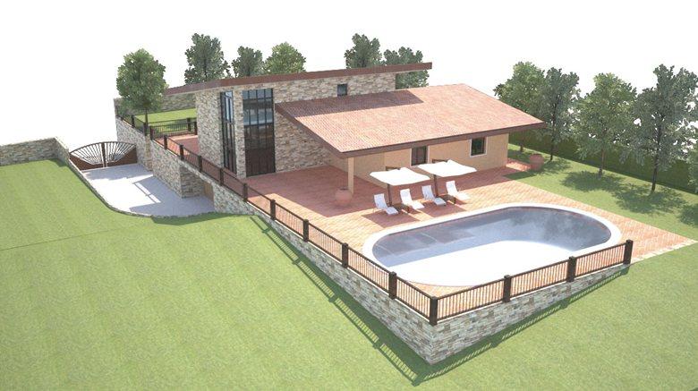 Progetto casa unifamiliare maurizio giovannetti for Progetto casa design