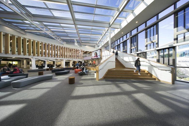 Deakin University Burwood Student Plaza
