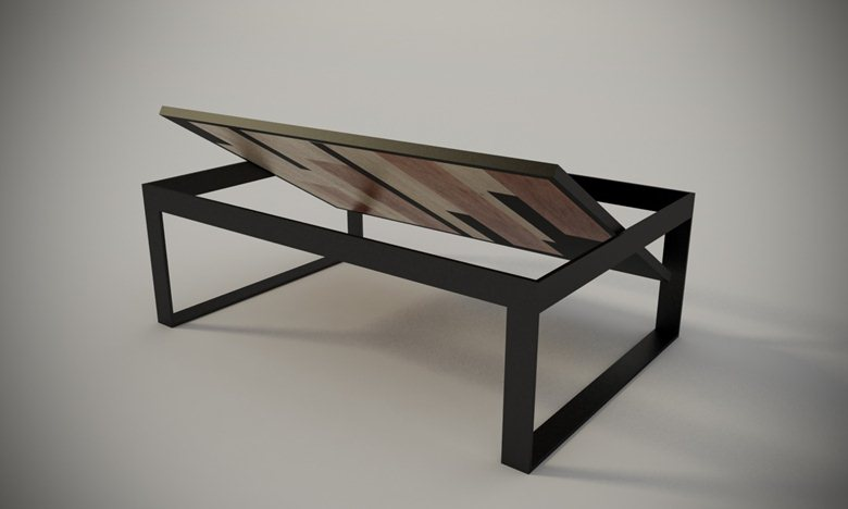 Dual centre table