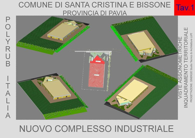 Nuovo complesso industriale