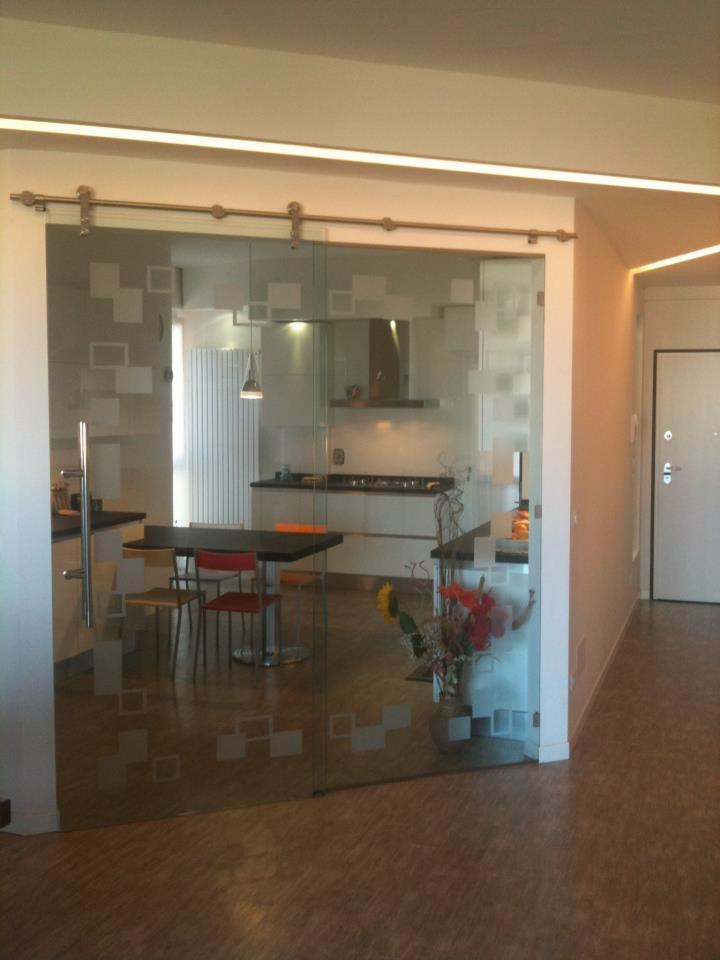 Porta scorrevole cucina | Studio Interior Design