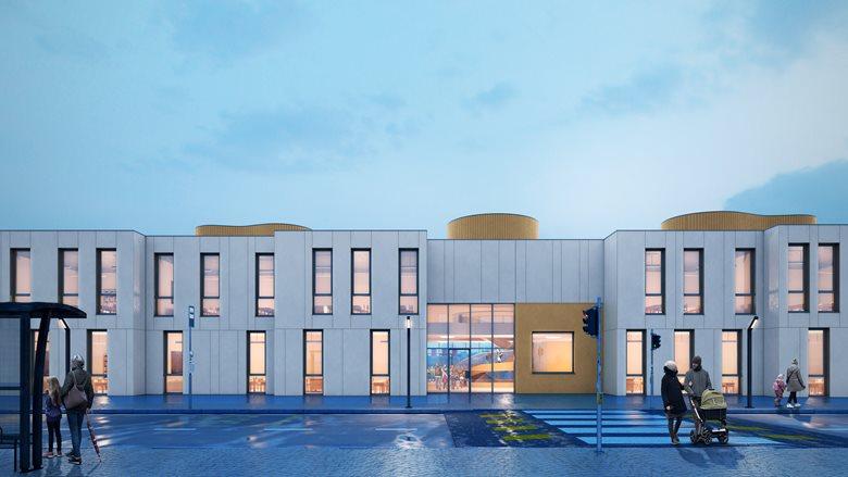 Nuova Scuola Primaria e palestra a Villa Cortese (MI)