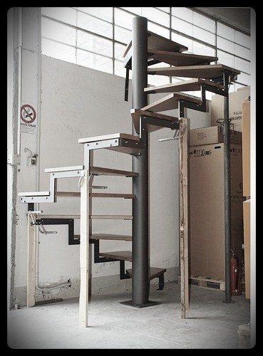 scala prefabbricata