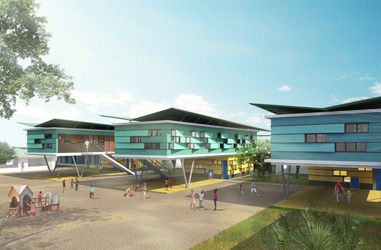 Lycée, école élémentaire et maternelle- Lycée Charlemagne