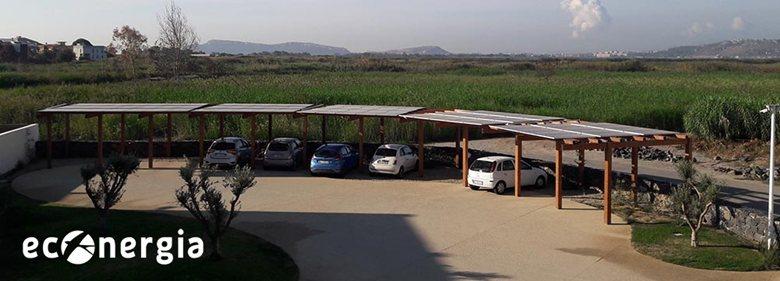 Impianto fotovoltaico con accumulo per il terziario