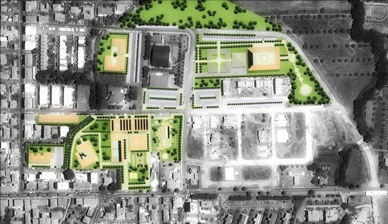 Progettazione urbanistica del nuovo Villaggio Scolastico di San Vincenzo