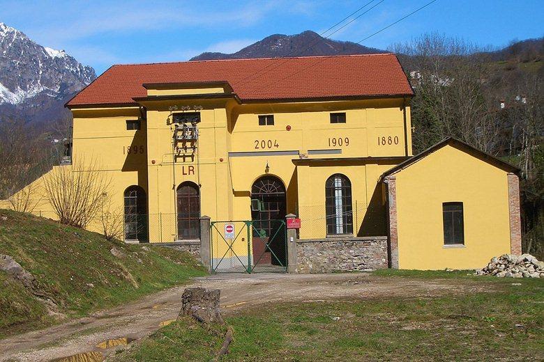 Restauro centrale idroelettrica
