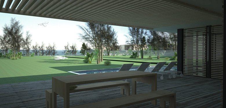 Conjunto de 3 Habitações - Praia dos Coxos, Portugal.
