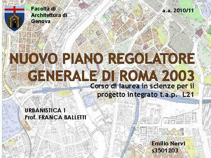 PRG ROMA 2003