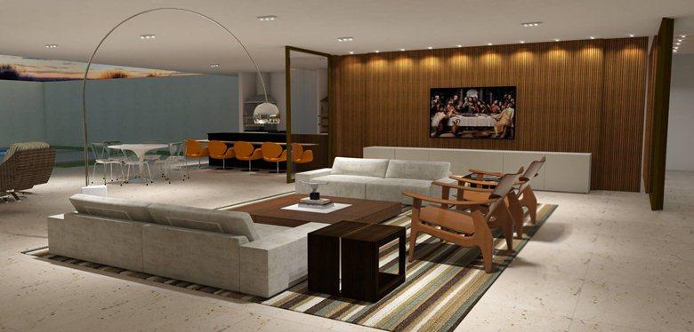 Residência Unifamiliar - Preview 3D