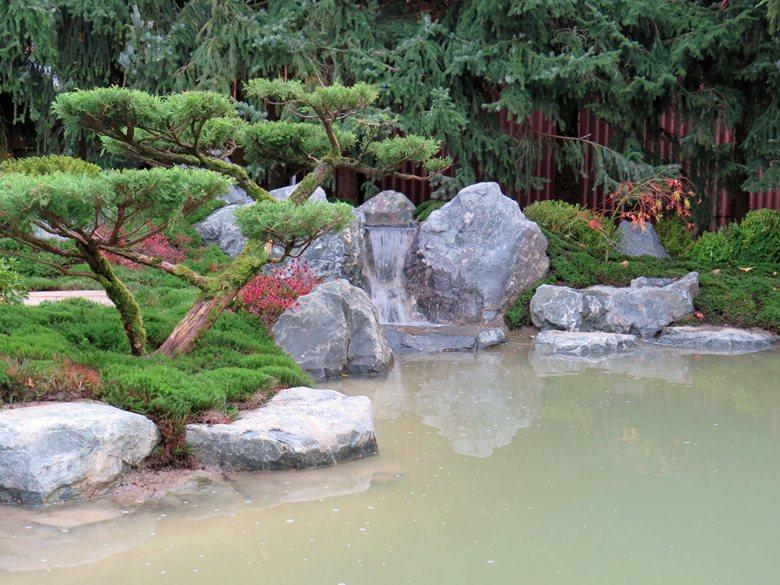 Kyoto in Hessen - Teich, Wasserfall und Moos in Harmonie