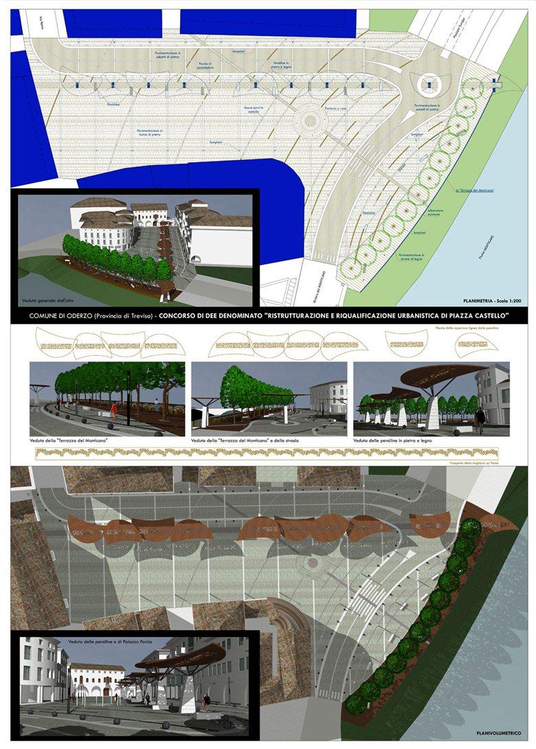Riqualificazione e ristrutturazione urbanistica di Piazza Castello